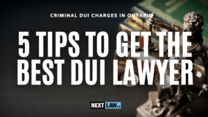DUI Lawyer - 5 Tips to Get the Best DUI Lawyer