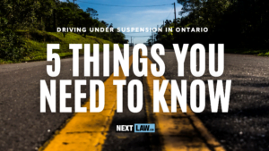 When you're charged with Driving While Under Suspension in Ontario, you're facing serious penalties which can dramatically impact your life.