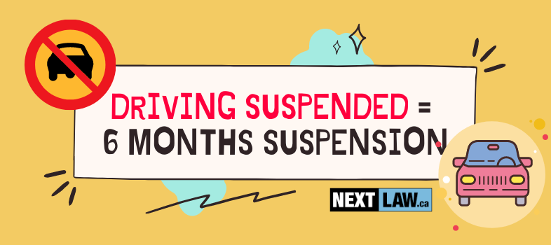 What is a Driving While Suspended charge in Ontario?
