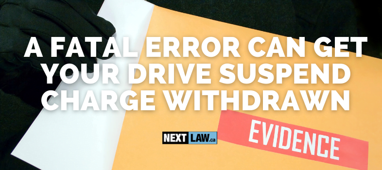 How can you beat your Driving While Under Suspension charge in Ontario?