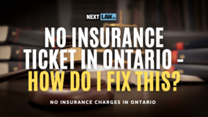 No Insurance ticket in Ontario - how do i fix this?