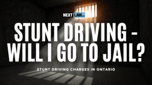 Stunt Driving in Ontario - Will I Go to Jail?