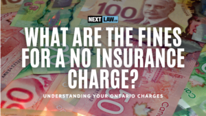 What are the fines for Driving with No Insurance in Ontario?